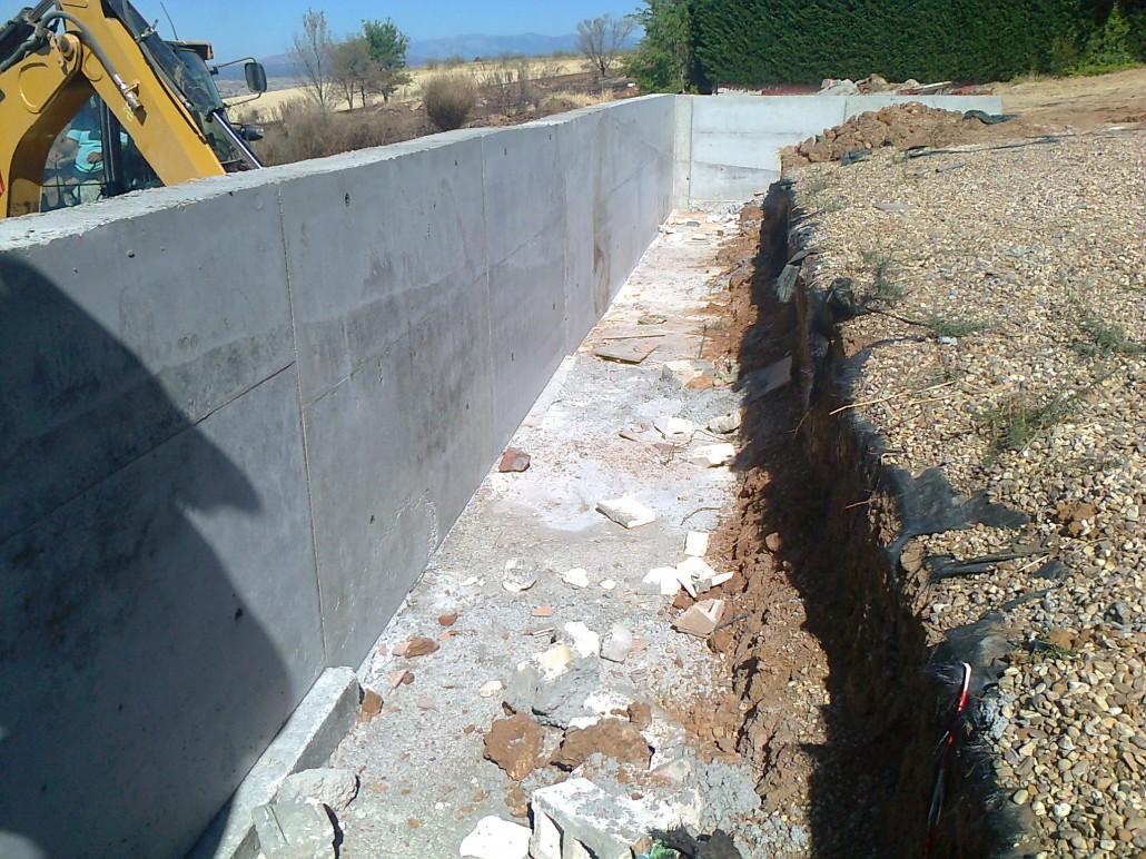 Proyecto y construcci n de un muro de contenci n de - Muros de contencion de piedra ...